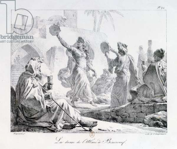 Arab Dancers from the series 'Voyage to the Levant' 1819 (engraving)