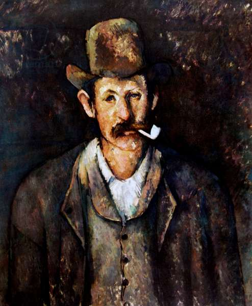 Paul Cézanne 'Man with a Pipe', 1892-96
