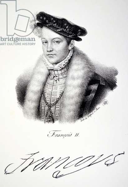 Francois II, 1840 (litho)