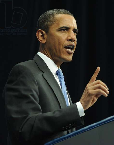 Barack Obama Speaks At The Graduation Ceremony At Moscow's New Economic School