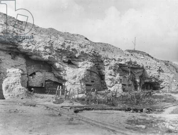 French Front, 1916, Veroun : Douaumont fort, 1920. ©UIG/Leemage