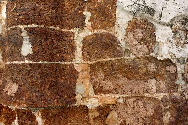 Wall Texture at A Famosa Fortress (photo)
