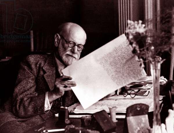 Sigmund Freud, 1930
