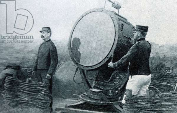 World war one searchlight, 1916