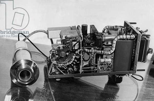 Mass Spectrometer Tube Used in the Soviet Sputnik 3 Satellite, 1958.