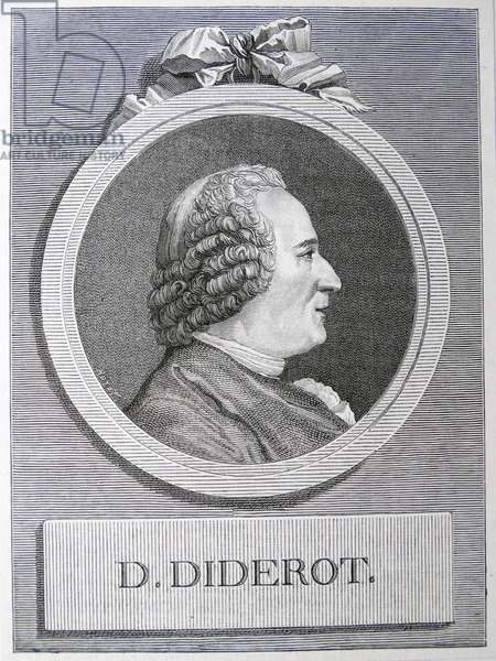 Denis DIDEROT - 1713-1784 French encyclopaedist.