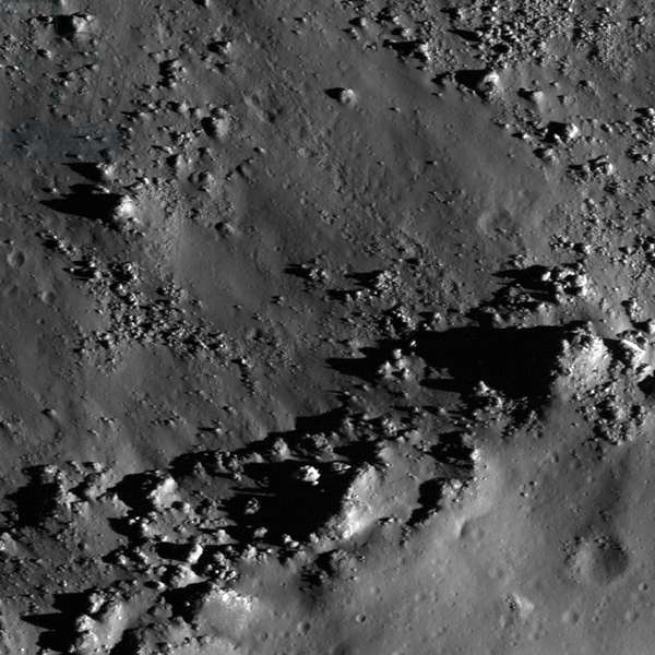 The southern rim of Copernicus crater.