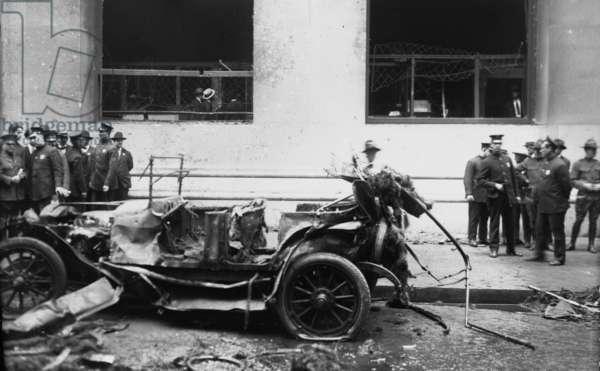 Wall Street terrorist bombing, 1920