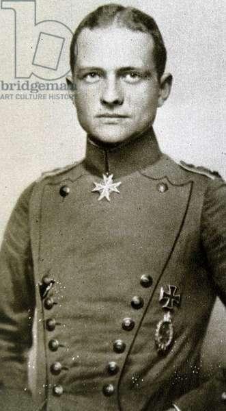 Manfred Albrecht Freiherr von Richthofen (1892 – 21 April 1918)