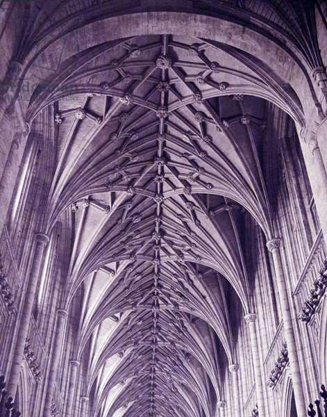 The interior of Winchester Cathedral