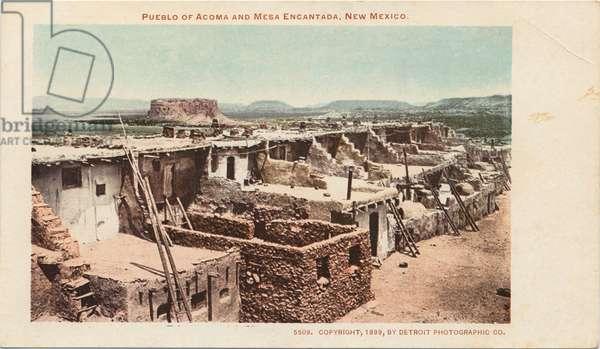 Pueblo of Acoma and Mesa Encantada, New Mexico