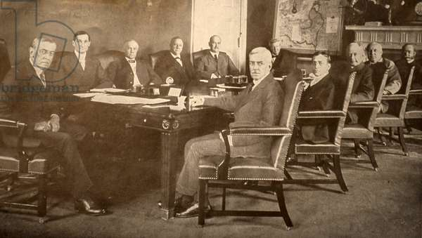President Woodrow Wilson and his ministers