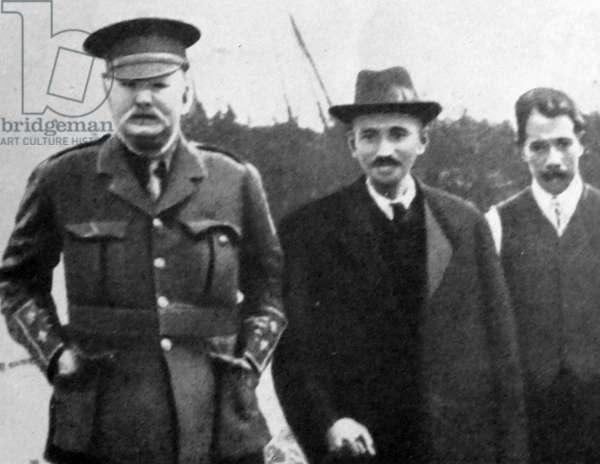 Mohandas Karamchand Gandhi visits England 1914