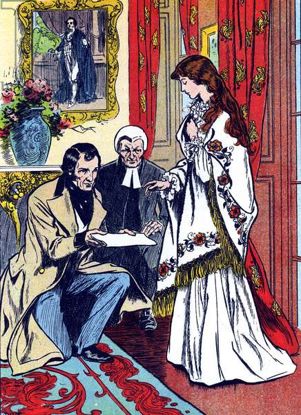 Queen Victoria, Lord Chamberlain and the Archbishop of Canterbury