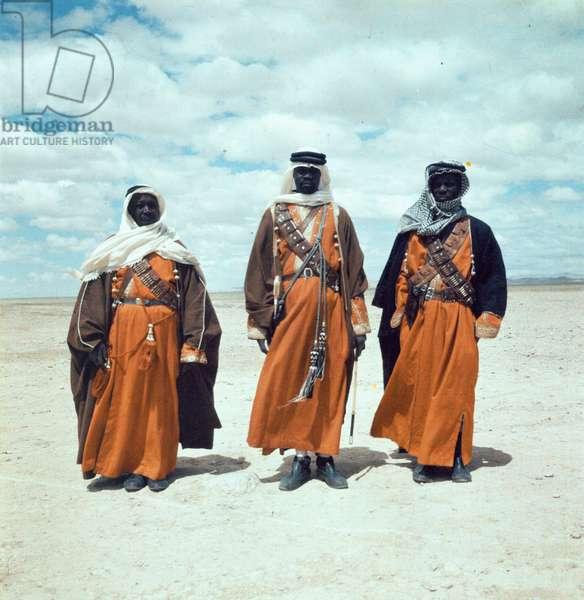 Three Bedouin men