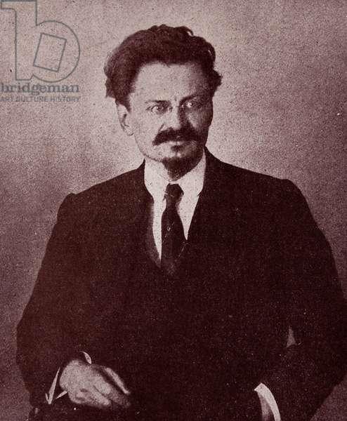 Leon Trotsky, 1918