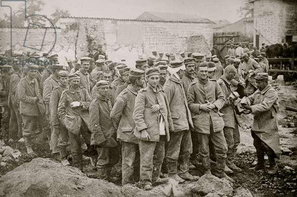 German prisoners in France (photo)