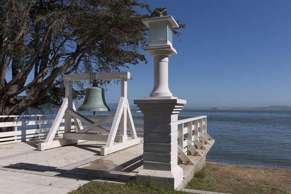 Bell on Angel Island West Coast Ellis (photo)
