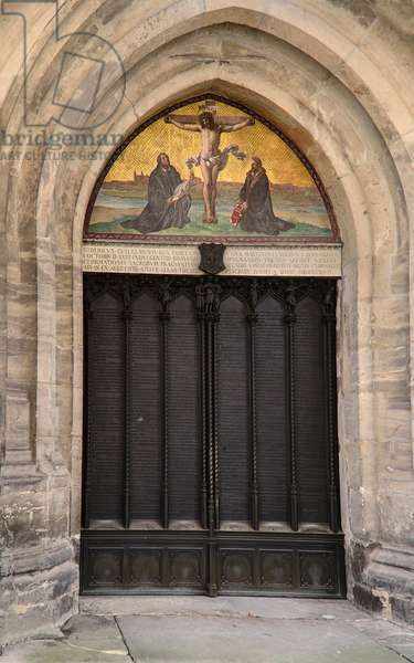 'Theses Doors', All Saints' Church, Wittenberg (photo)