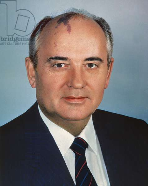 Chairman Of Supreme Soviet Of Ussr And General Secretary Of Central Committee Of CPSU Mikhail Gorbachev