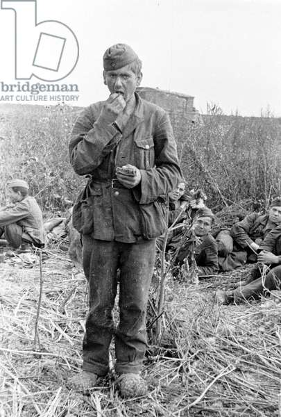 A Young German army conscript