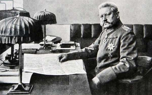 Paul Von Hindenburg, 1917