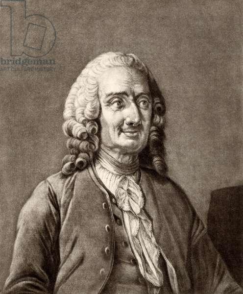 Portrait of Jean Philippe Rameau