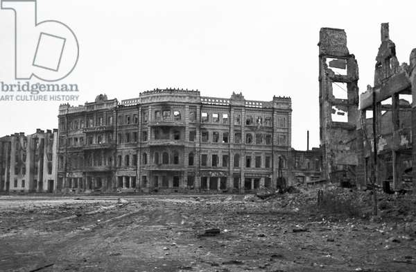 Stalingrad Destroyed From The Battle Of Stalingrad