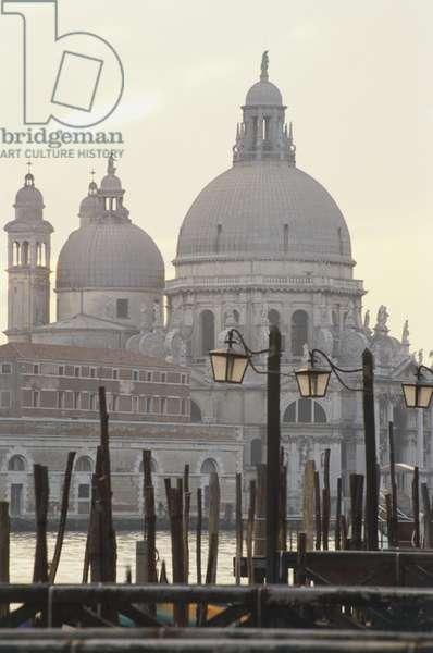 View across the Grand Canal to Santa Maria della Salute