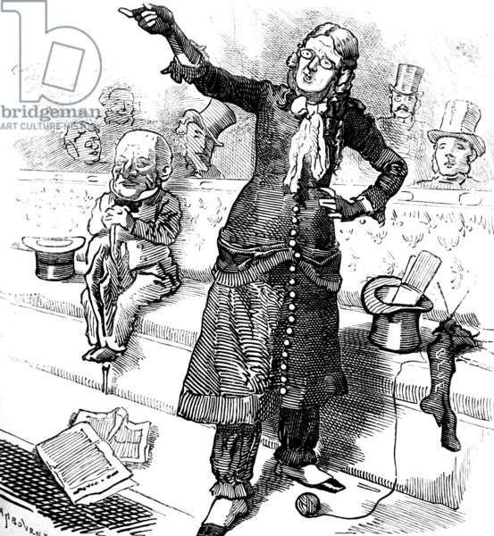 Women's Suffrage, 1884
