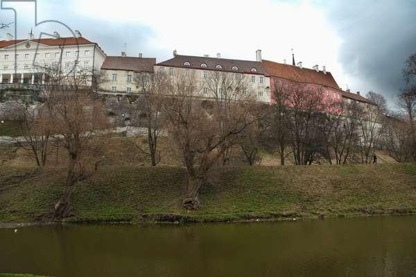 Eastern Slope of Toompea in Tallinn, Estonia (photo)