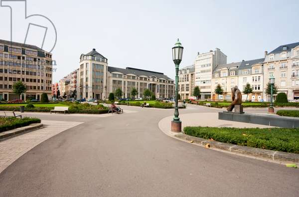 Place De Martyrs (Martyrs' Square) to Commemorate the Victims of the Nazi Occupation, Luxembourg (photo)