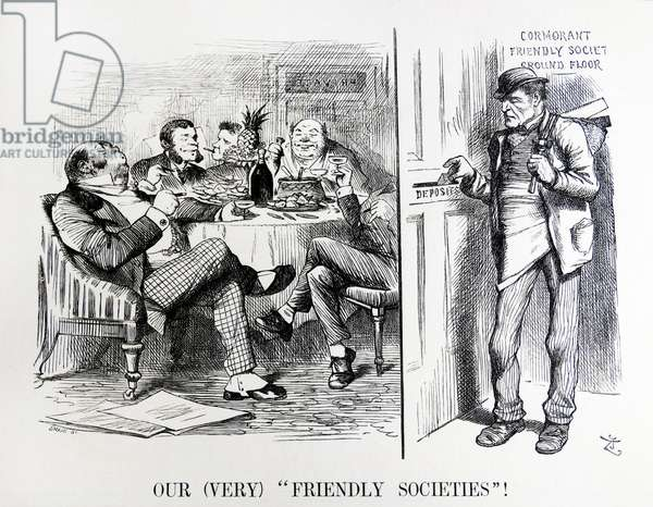 John Tenniel cartoon titled 'Enquiry by the Registrar General'