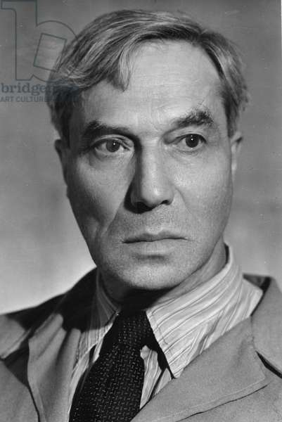 Boris Pasternak (1890-1960), Russian Poet and Novelist, Author of 'Doctor Zhivago'.