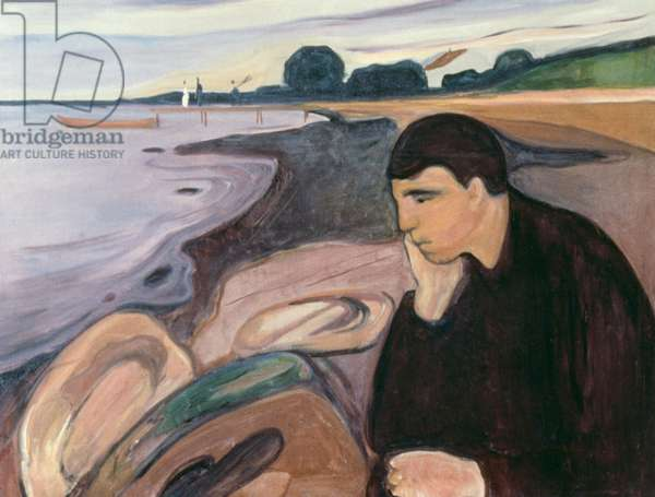 Melancholy, 1894-95 (oil on canvas)