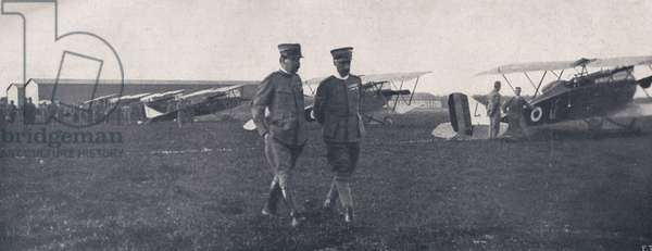 WWI 9 August 1918-The squadron 'Serenissima', Colonel La Polla and Major D'Annunzio