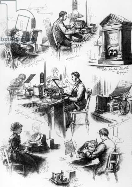 Central Telegraph Establishment, 1874