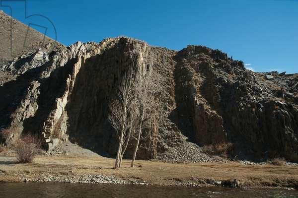 Helmand River Near Zarkharid, Vardak Province, Afghanistan (photo)