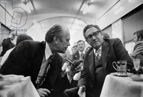 US President Gerald Ford and Secretary of State Henry Kissinger