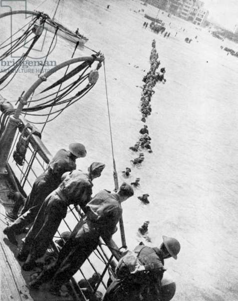 World War 2: British retreat from Dunkirk, May-June 1940