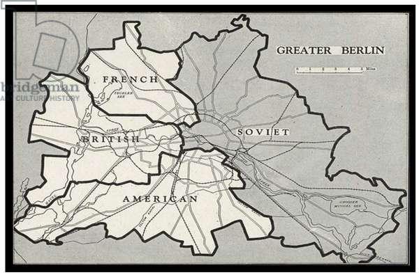 Berlin Blockade Map