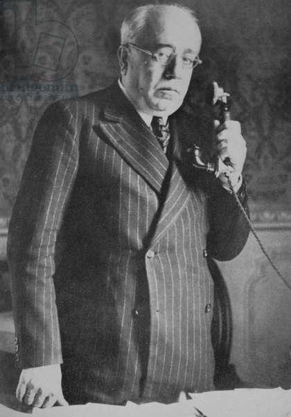 Manuel Azana Díaz first Prime Minister of the Second Spanish Republic