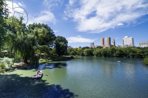 The Lake in Central Park, New York City, New York, United States (photo)