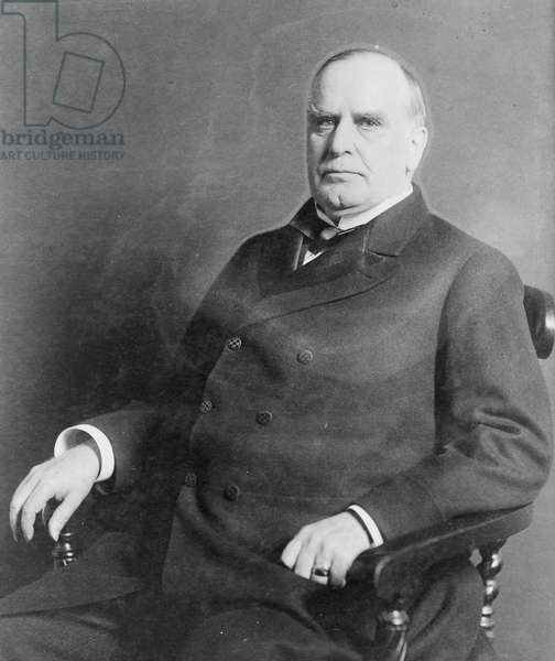 President William McKinley, 1900