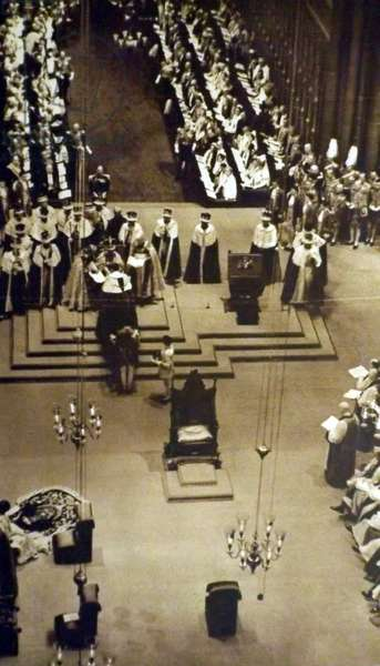 Coronation of King George VI at Westminster Abbey, London, 1937, 1937