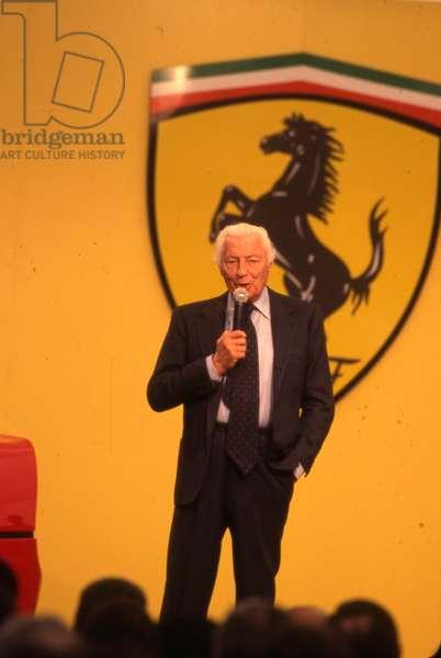 Avv Gianni Agnelli present a new Ferrari F1