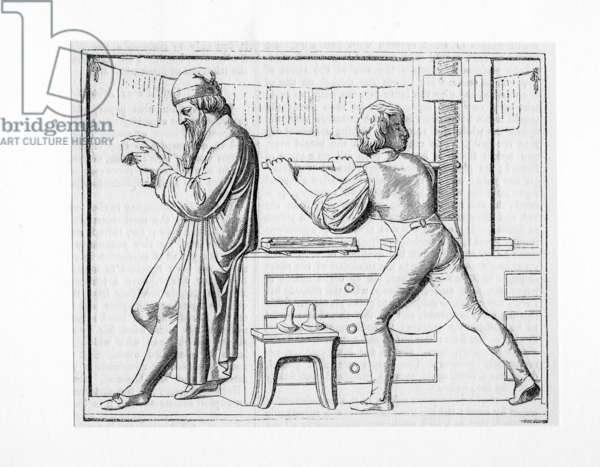 Johann Gutenberg (circa 1400 - 1468)