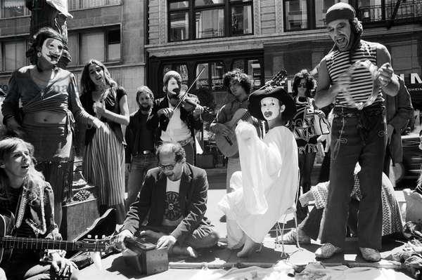 Allen Ginsberg, 1971 (b/w photo)