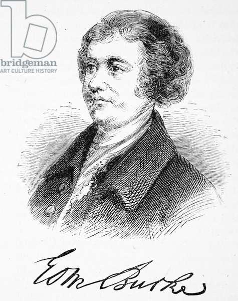 Edmund Burke, 1754