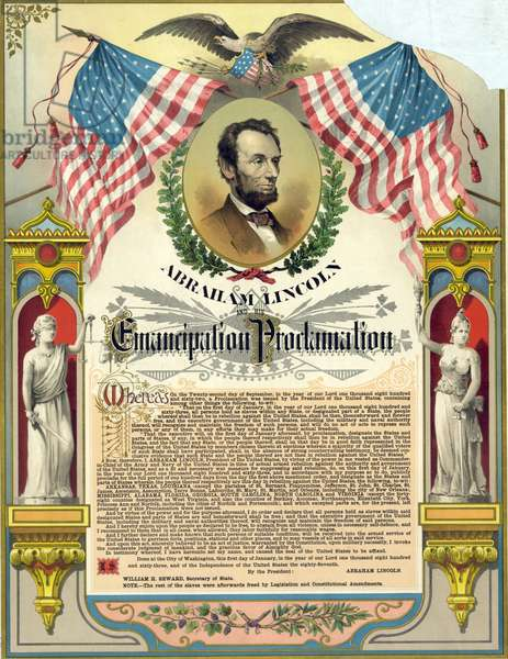 Text of the Emancipation Proclamation, 1888